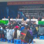 """Huyện đoàn Tuy Phước phối hợp tổ chức Chương trình tư vấn hướng nghiệp với chủ đề """"Sẵn sàng cho cuộc cách mạng công nghệ 4.0"""""""