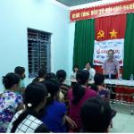 Tuy Phước: Khai giảng lớp đào tạo nghề may công nghiệp cho lao động nông thôn xã Phước Nghĩa.